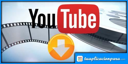 Aplición para descargar vídeos
