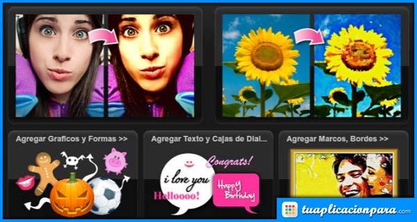 Aplicaciones para tus dispositivos android o ios - Aplicaciones para decorar fotos gratis ...