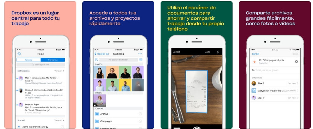 Descargar Dropbox para iOS