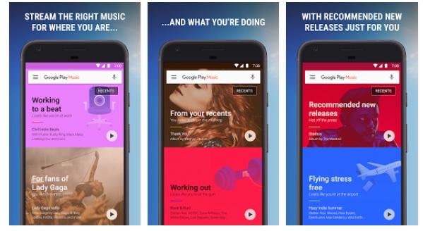 Google Play music Android descargar gratis